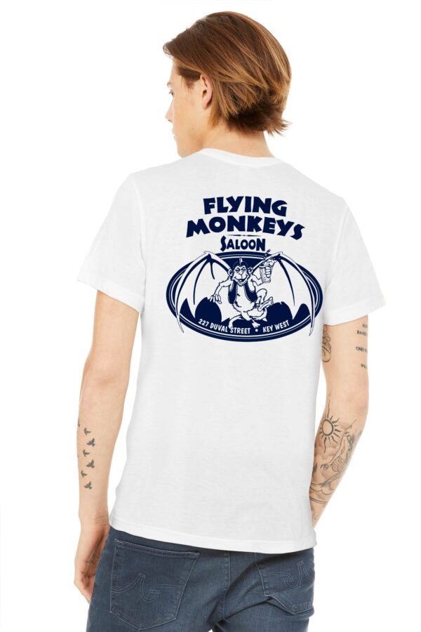 classic flying monkeys t shirt back