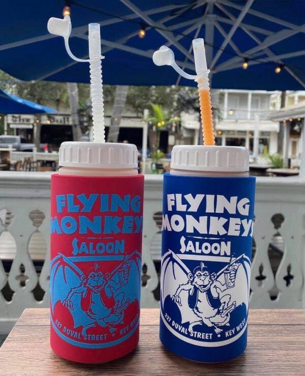 two Flying Monkeys saloon squeeze bottles